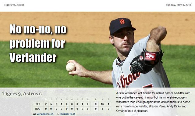2013 DETROIT TIGER SCHEDULE AND RESULTS - Page 2 8712224031_632389cf84_z