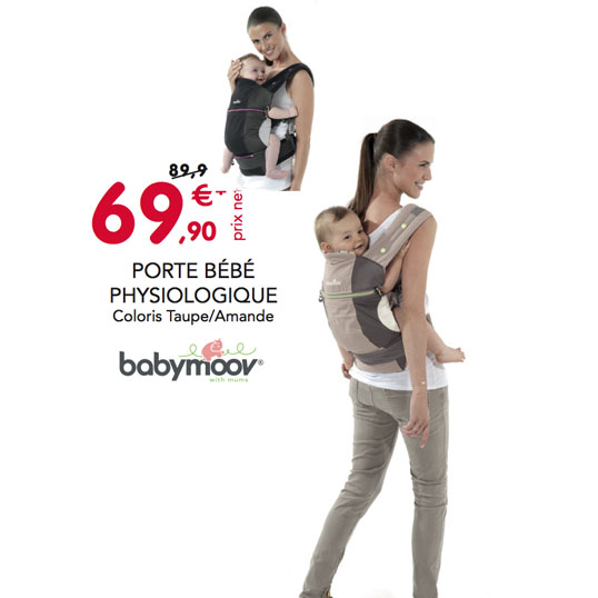 Bon Plan porte bébé physiologique