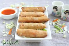 VEG - spring- rolls