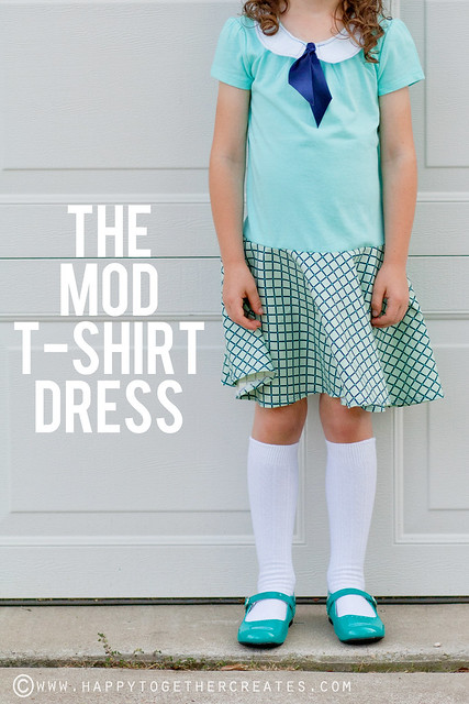The Mod T-shirt Dress Tutorial