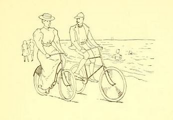 Pleasure-Cycling illustration