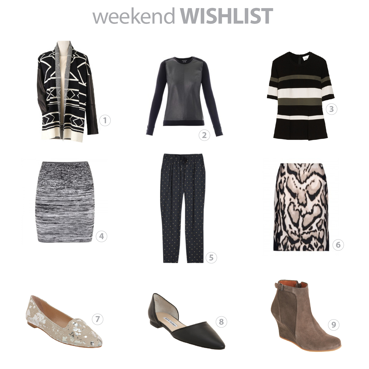 weekend wishlist_three