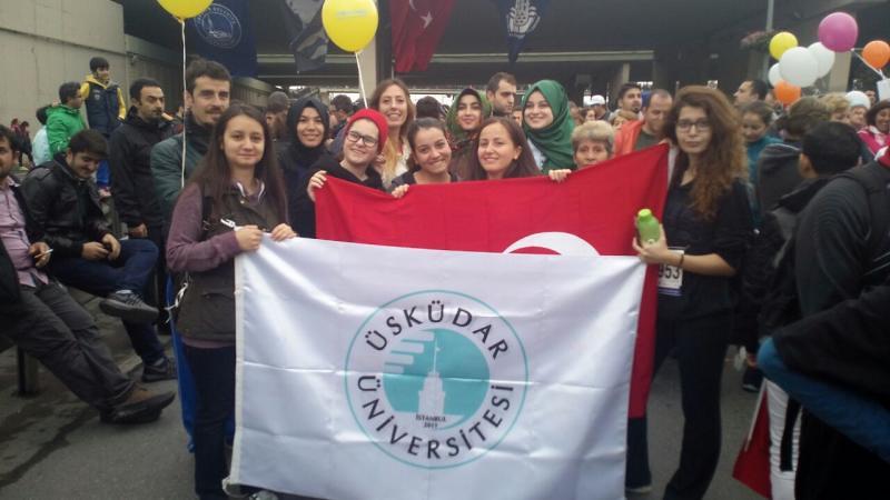 Üsküdar Üniversitesi İstanbul Maratonu'nda…