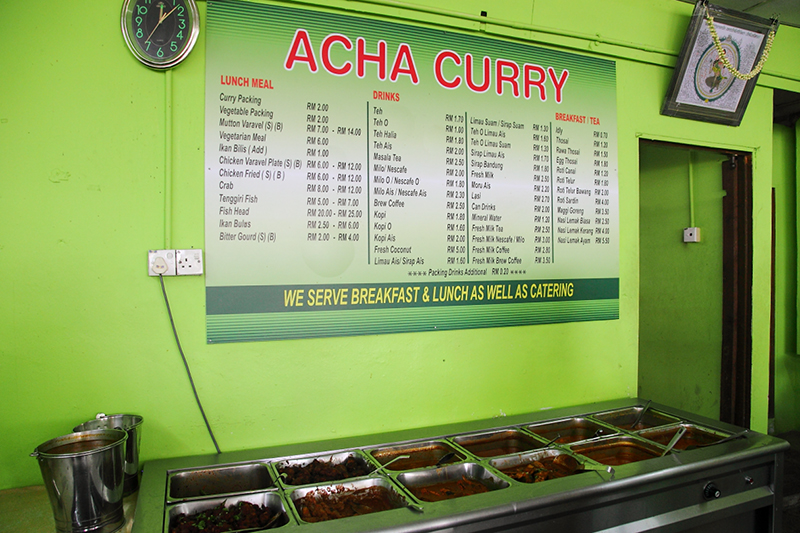 Acha-Curry-Menu