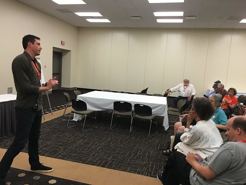 Will Rockafellow speaking at the Daily Kos Caucus NN16