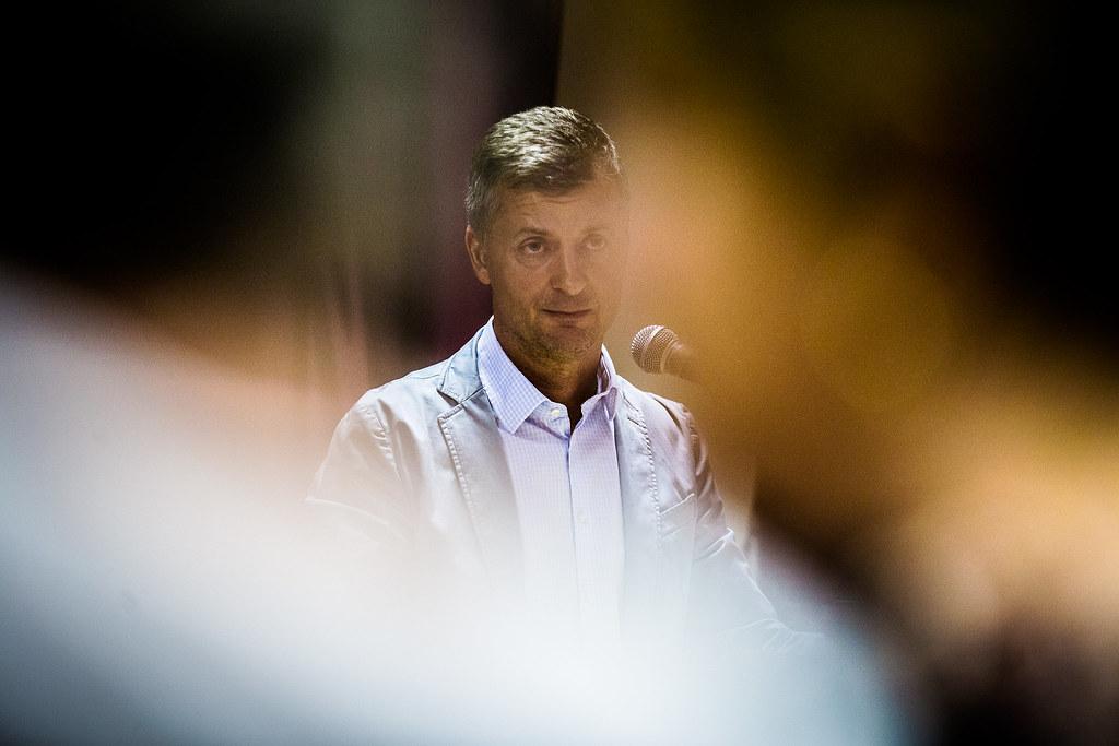 Czunyiné dr. Bertalan Judit kormánybiztos és Kubatov Gábor Fidesz-alelnök lakossági fóruma az október 2-i, migrációval kapcsolatos népszavazás kapcsán.