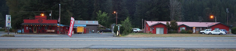 Tall Timber Motel: Second night's stay and dinner.