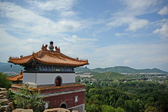 view on Beijing at the summer palace