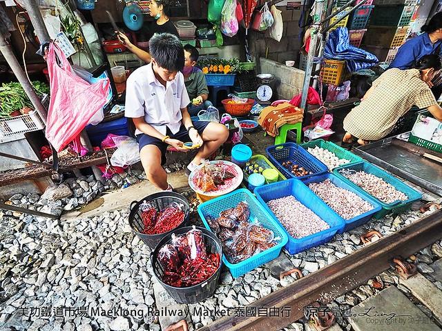 美功鐵道市場 Maeklong Railway Market 泰國自由行 51