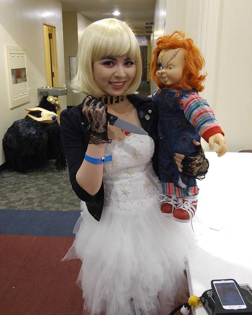 @owen_miyabi Bride of Chucky #sinistercreaturecon