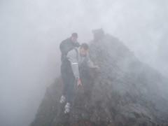 Kev & Chris on the Crib Goch Ridge Image