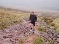 Kev Running in the Brecons Image