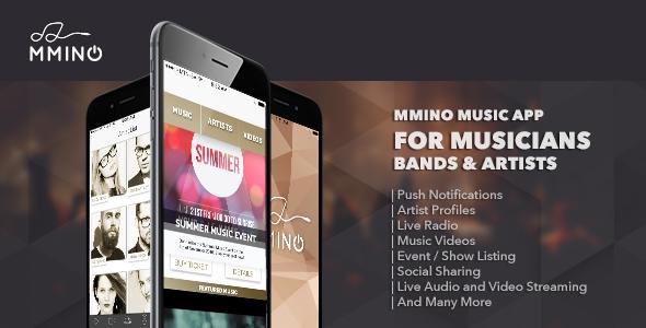 Mmino – iOS Music Band App