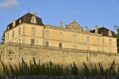 Château de Vendoire au coucher de soleil