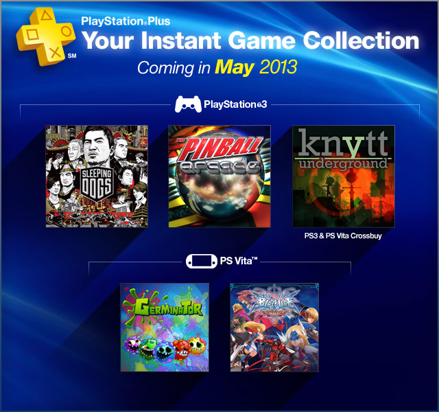 PlayStation Plus Update 5-7-2013