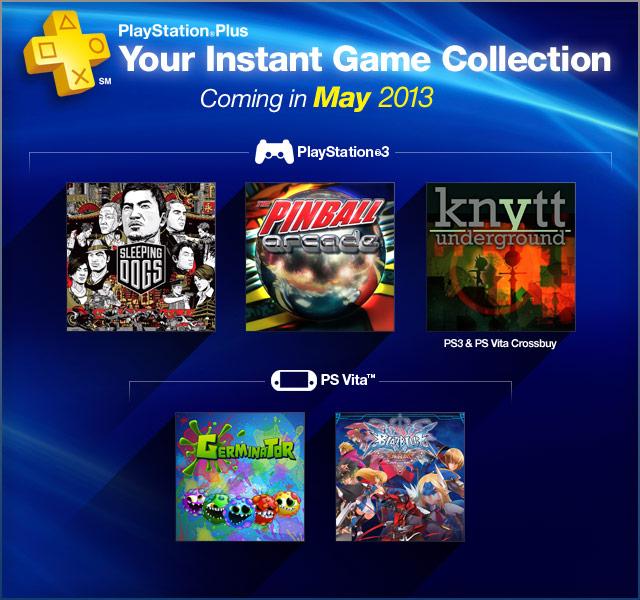 PlayStation Plus Update 5-7-2013