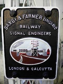 Saxby & Farmer (India) Ltd.