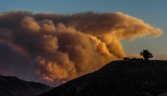 Encroaching Firestorm