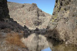 Pre-spring gorge