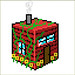 Pixel Art Isometric House