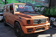 off-roading(0.0), automobile(1.0), automotive exterior(1.0), sport utility vehicle(1.0), wheel(1.0), vehicle(1.0), compact sport utility vehicle(1.0), mercedes-benz(1.0), mercedes-benz g-class(1.0), off-road vehicle(1.0), bumper(1.0), land vehicle(1.0), luxury vehicle(1.0),