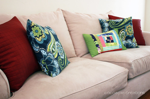 Wonky Pillow couch