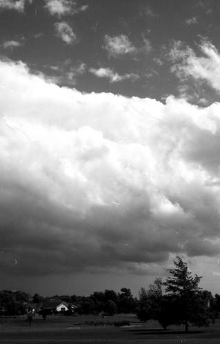 sky storm clouds 50mm blackwhite nikon front nikkor nikonfe sundayafternoon bloomfieldny