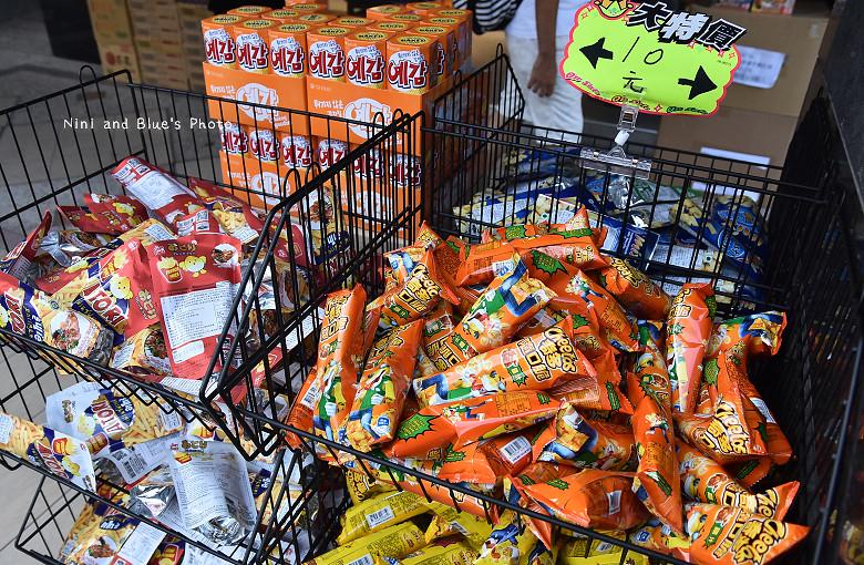 台中獅賣特即期良品進口零食餅乾泡麵02