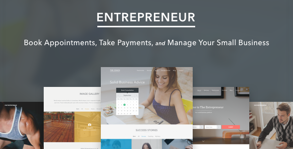 Entrepreneur v1.3.4 – Booking for Small Businesses