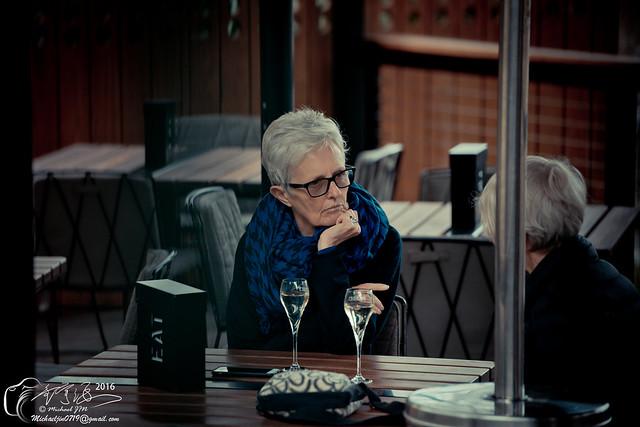 Old woman Flinders