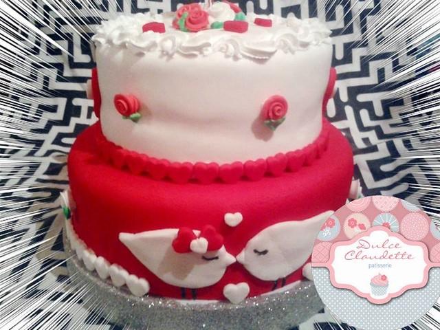 Cake by Dulce Claudette Pastelería