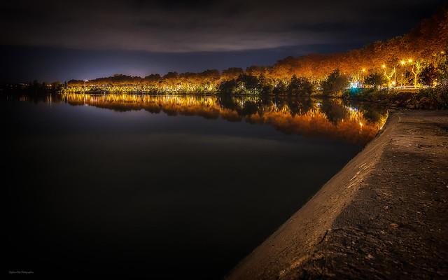 Reflection in Saône river 3