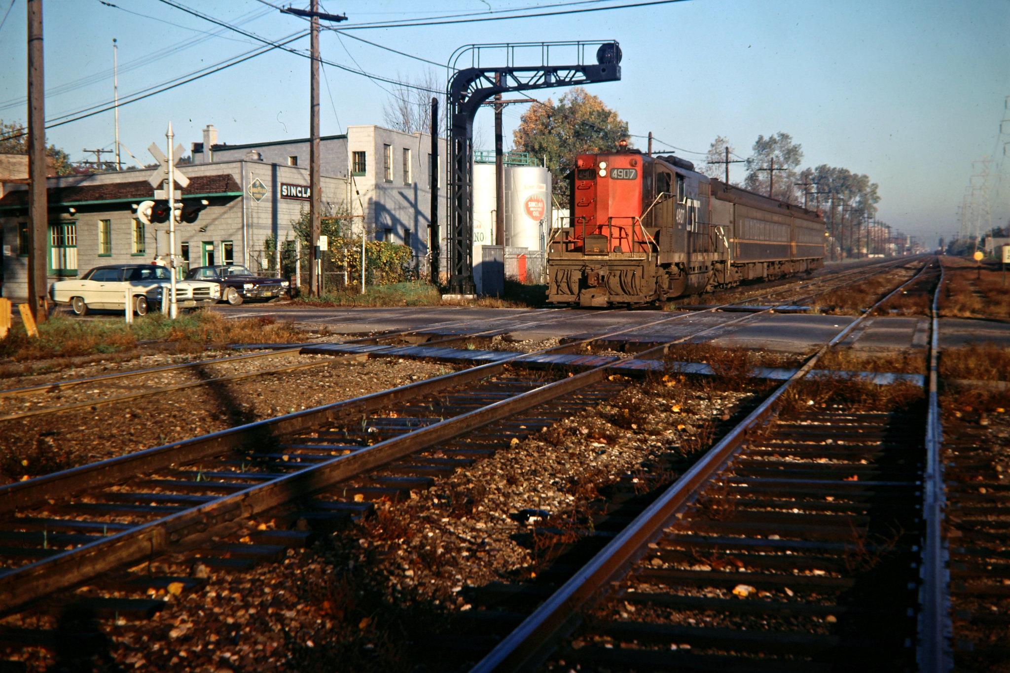 Grand Trunk Western Railroad by John F Bjorklund – Center