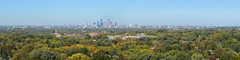Minneapolis seen from the Highland Park Water Tower
