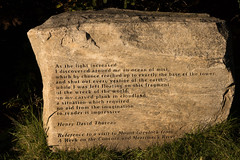Thoreau on Mount Greylock, Massachusetts