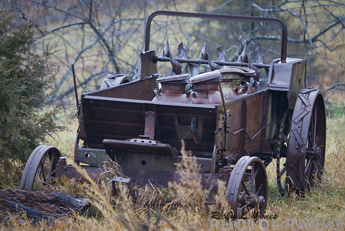 Old Tractor by Ricky L. Jones Photography