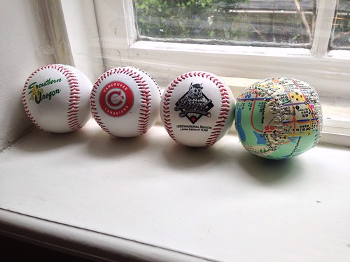 My Branded Baseball Collection