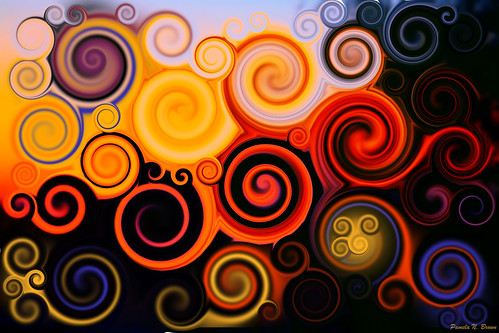 Sunset Swirls