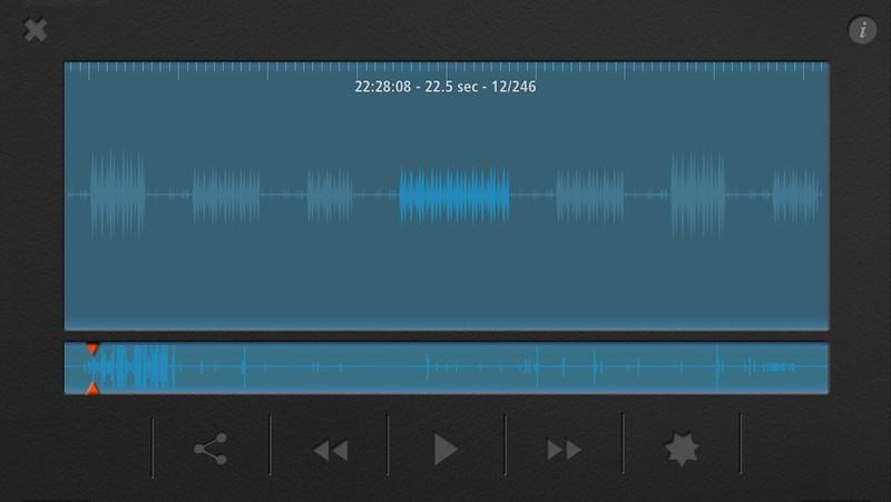 Met 246 opnames in 5h45 erg onrustig (en kort)
