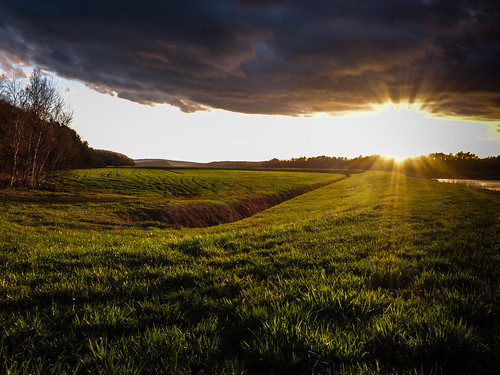 sunset dykes novascotia dyke portwilliams fujix10