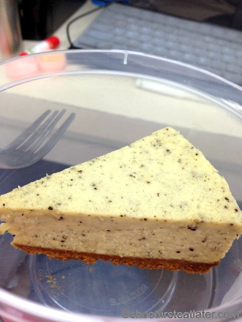 Greg Guy's Fiesta Cheesecakes - barako coffee