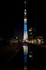 20130428 東京玩第二天 315 sky tree 東京スカイツリー 夜景 十間橋