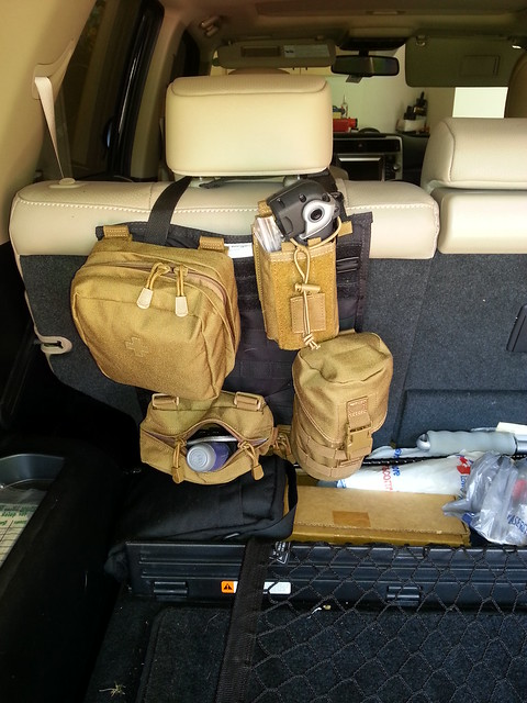 Molle Seat Covers - Toyota 4runner Forum