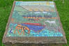 Mosaic by the Leeds and Liverpool Canal, Nelson