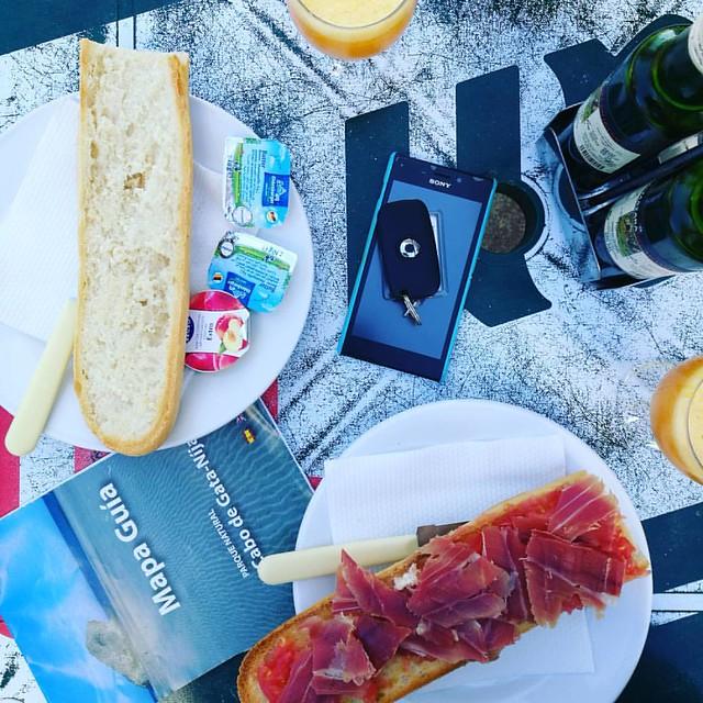 Breakfast in Cabo de Gata #cabodegata #rodalquillar #andalusia #spain #parquenaturalcabodegata #breakfastpic
