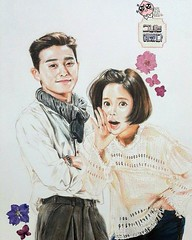 regram @viki Still one of our favorite #kdrama couples! #ParkSeoJoon & #HwangJungEum are perfect together in #SheWasPretty. #ChoiSiwon #Siwon #kdramas #koreandrama #koreandramas #dramacoreano #dramascoreanos #VikiTV #fanart