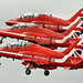 Red Arrows - RIAT 2016 by Airwolfhound