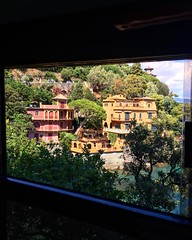 You might get squished like a sardine on the bus between Santa Margherita and Portofino but don't blink and hang onto something besides your camera on the twisty road. The views are incredible.