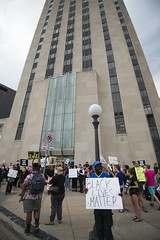 Black Lives Matter protest at St. Paul City Hall