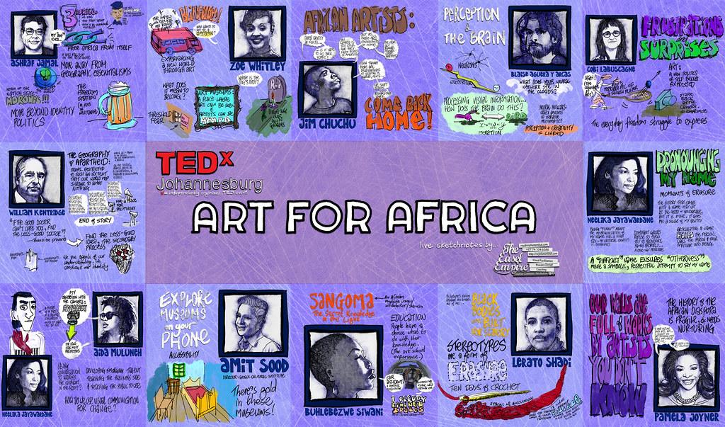 TEDxJOHANNESBURG — Art For Africa